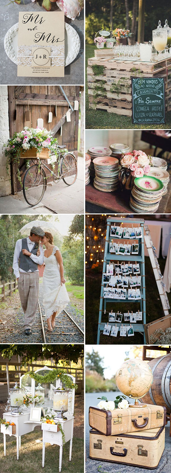6 Awesome Vintage Wedding Theme Ideas To Inspire You in Vintage Backyard Wedding Ideas