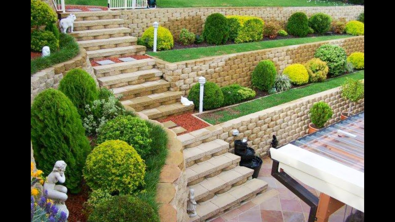 60 Retaining Wall Design Ideas 2018 Garden And Landscaping throughout 12 Clever Ideas How to Upgrade Backyard Retaining Wall Ideas