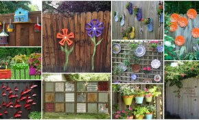 9 Top Backyard Fence Decorating Ideas Photos Home for 15 Clever Designs of How to Upgrade Backyard Fence Decor