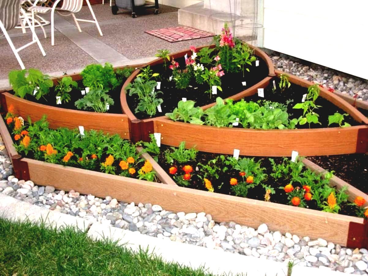 Architectures Inspiration Small Garden Yards Simple Plan intended for Small Backyard Vegetable Garden Ideas