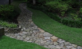 Attractive Drainage Swale Landscape Projects Backyard throughout Backyard Drainage Ideas
