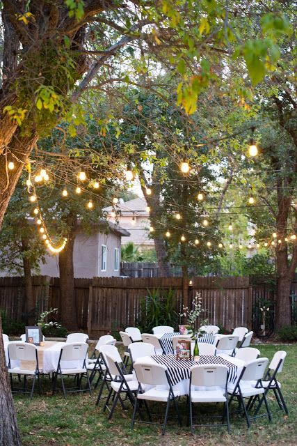Backyard Birthday Party For The Guy In Your Life Diy within 11 Clever Designs of How to Makeover Backyard Birthday Decorations