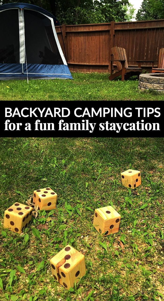 Backyard Camping Tips For A Fun Family Staycation Easy Diy for 11 Clever Concepts of How to Craft Backyard Camping Ideas