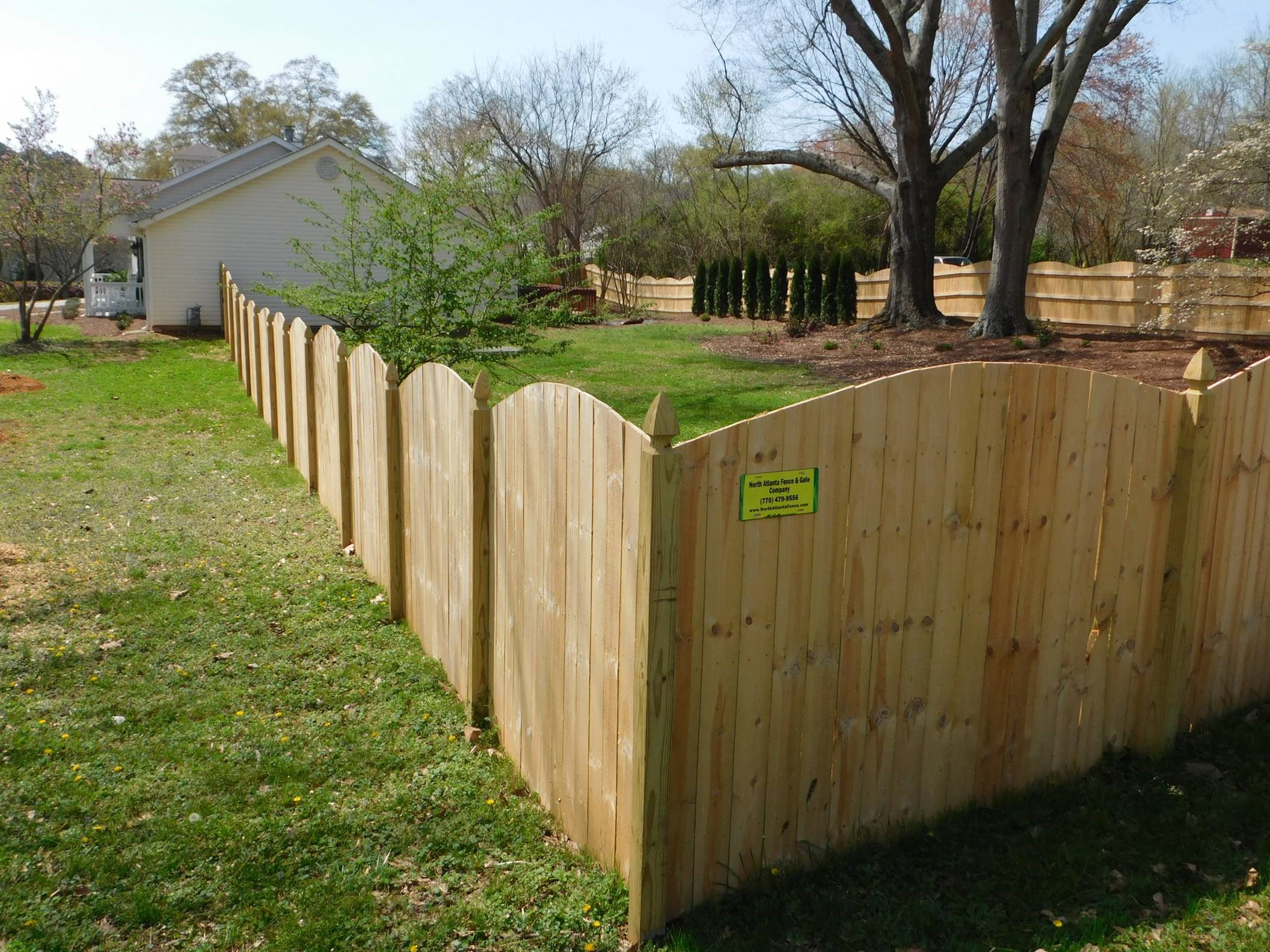 Backyard Fence North Atlanta Fence Gate Company Inc in 15 Clever Ways How to Makeover Backyard Fence Company