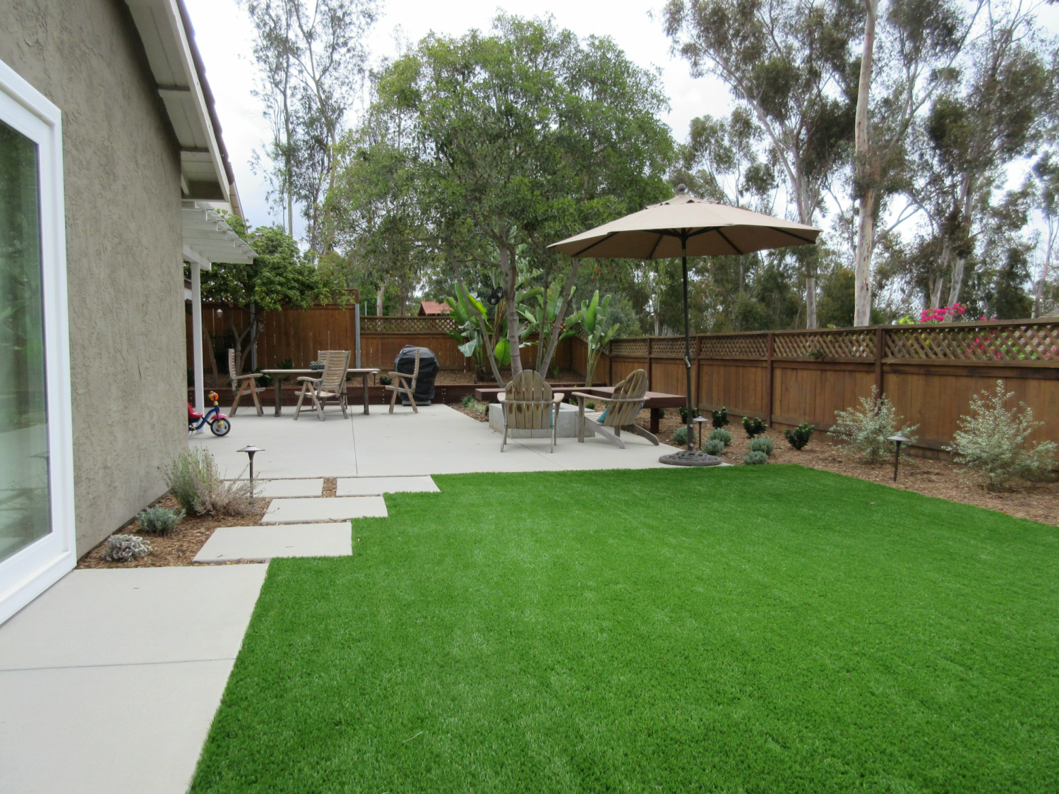 Backyard Landscape Design Letz Design pertaining to 13 Clever Ideas How to Build Backyard Landscaping Ideas San Diego
