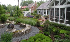 Backyard Landscapes with 10 Smart Concepts of How to Upgrade Backyard Landscape Pictures