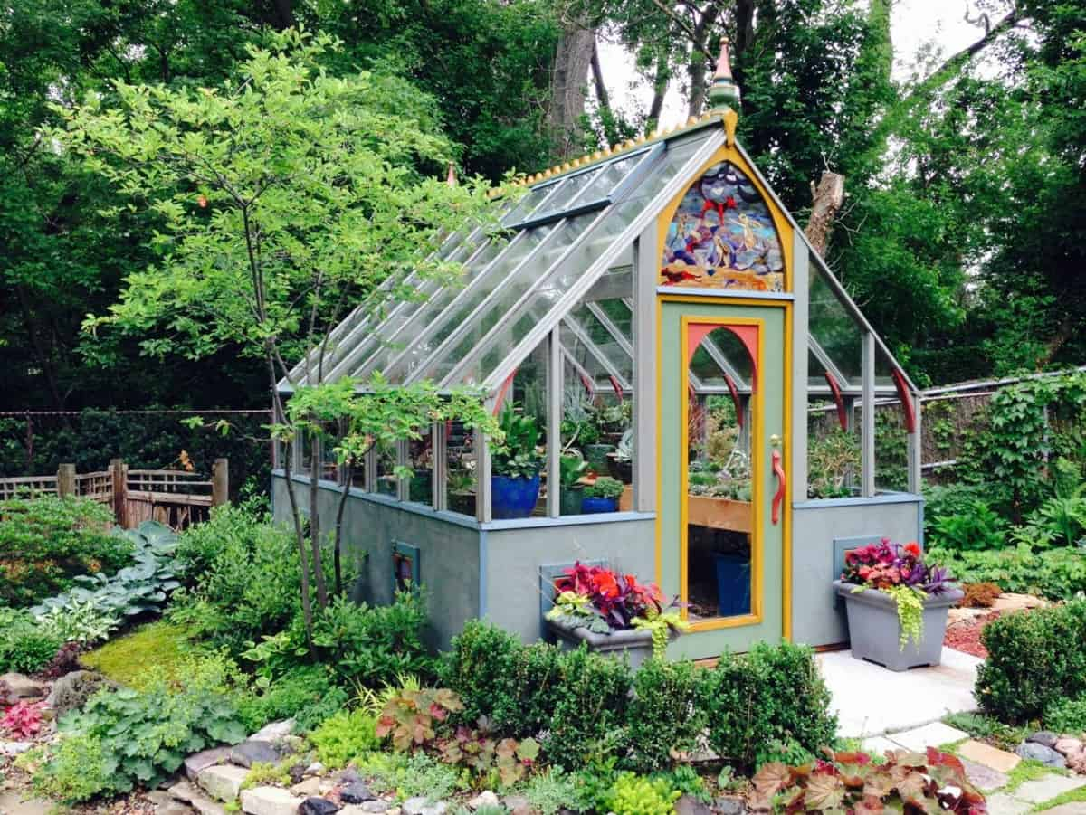 Backyard Landscaping Garden Design Ideas Family Food Garden with regard to 12 Some of the Coolest Concepts of How to Upgrade Backyard Greenhouse Ideas