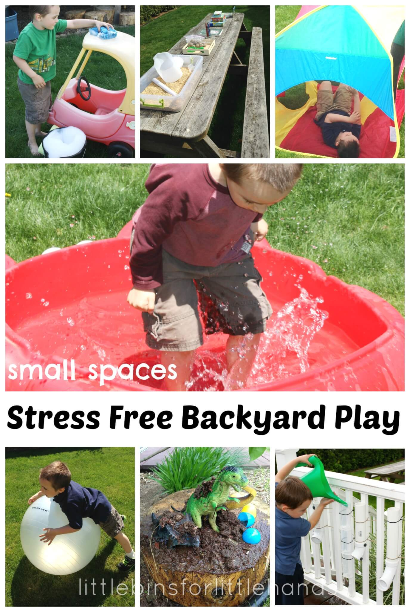 Backyard Play Ideas Stress Free Summer Play Outdoors in 11 Smart Ideas How to Build Backyard Ideas For Summer