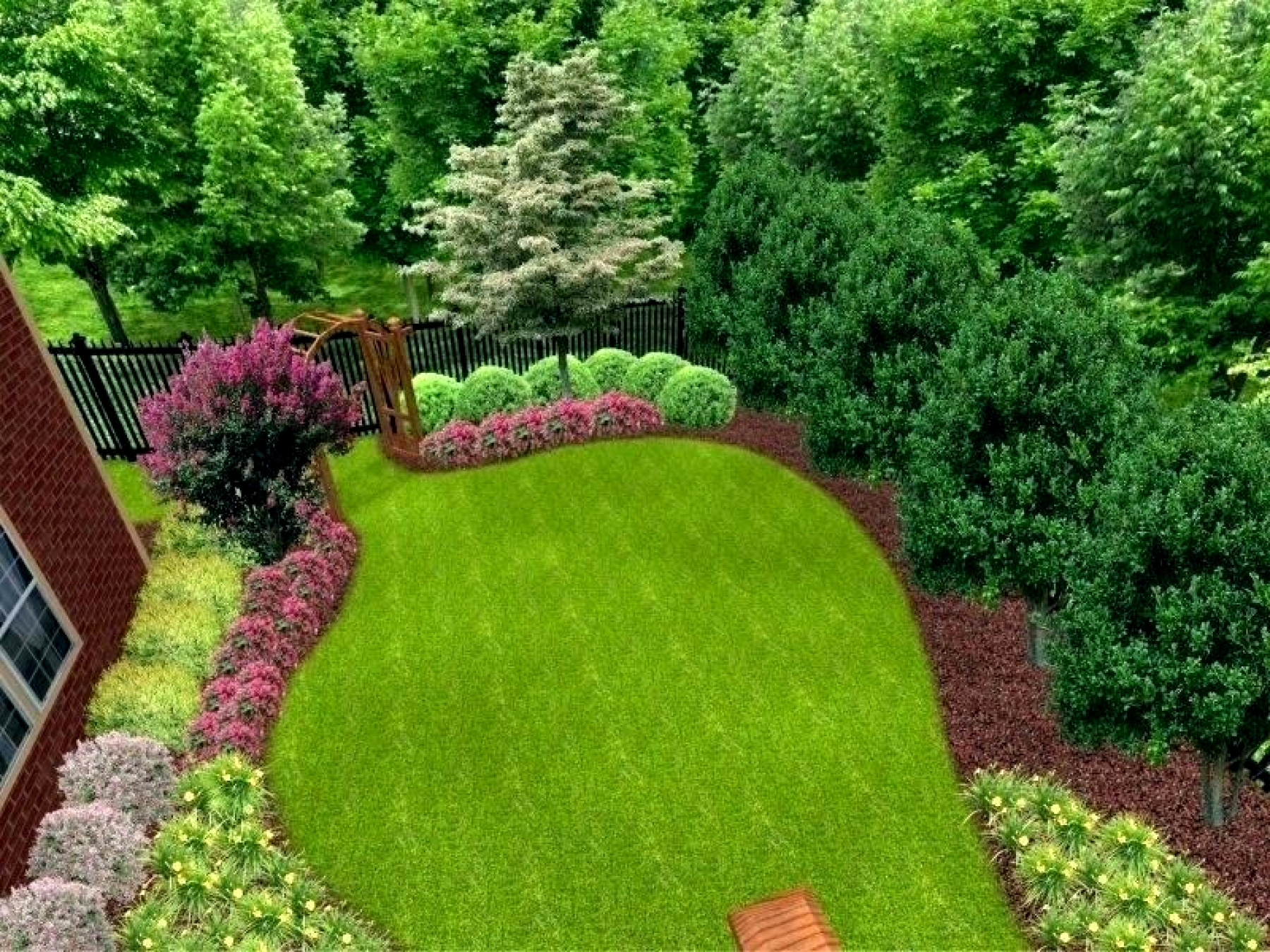 Backyard Privacy Landscaping Ideas Take The Scenic Route regarding 11 Clever Initiatives of How to Build Landscaping Ideas For Backyard Privacy