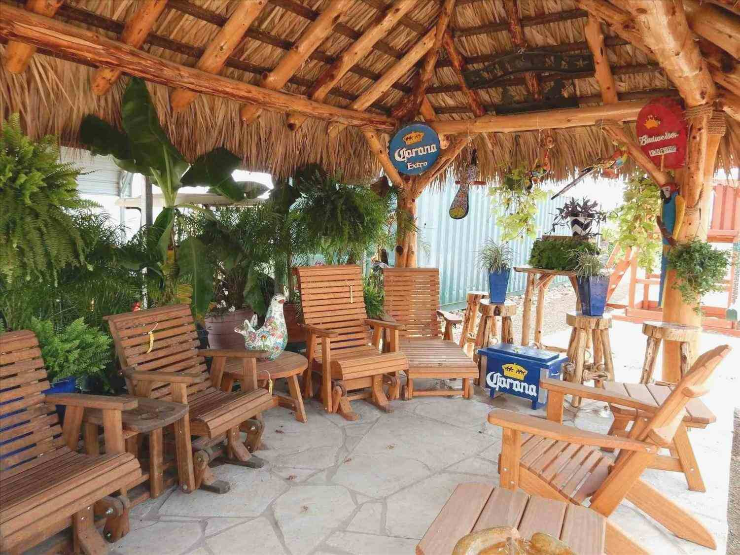 Backyard Tiki Hut Ideas Front Yard Landscape Fence with regard to 11 Some of the Coolest Ways How to Build Backyard Tiki Hut Ideas