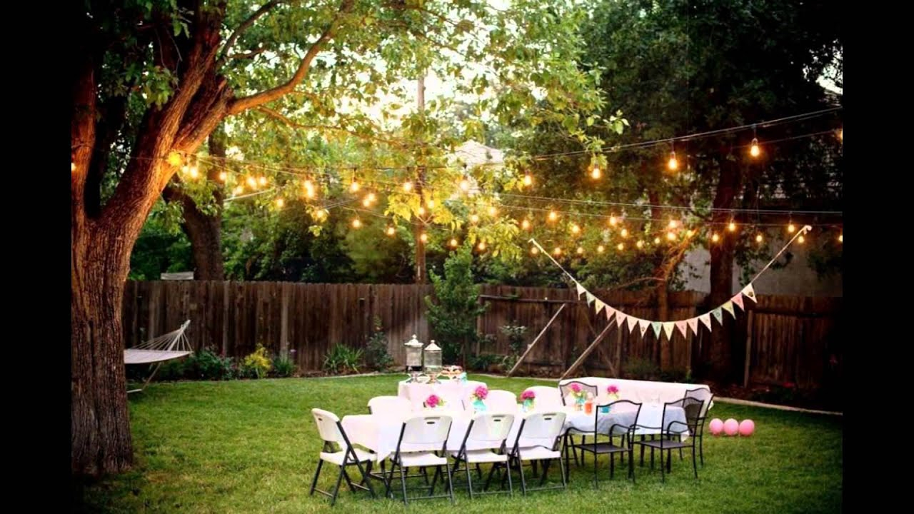 Backyard Weddings On A Budget pertaining to 11 Genius Concepts of How to Upgrade Wedding Backyard Ideas