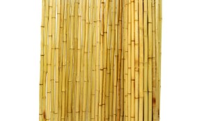 Backyard X Scapes 6 Ft H X 8 Ft W X 1 In D Natural Rolled Bamboo Fence Panel throughout 13 Clever Initiatives of How to Improve Backyard XScapes Rolled Bamboo Fencing