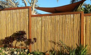 Backyard X Scapes Bamboo Fencing Natural within Backyard X Scapes Reed Fencing