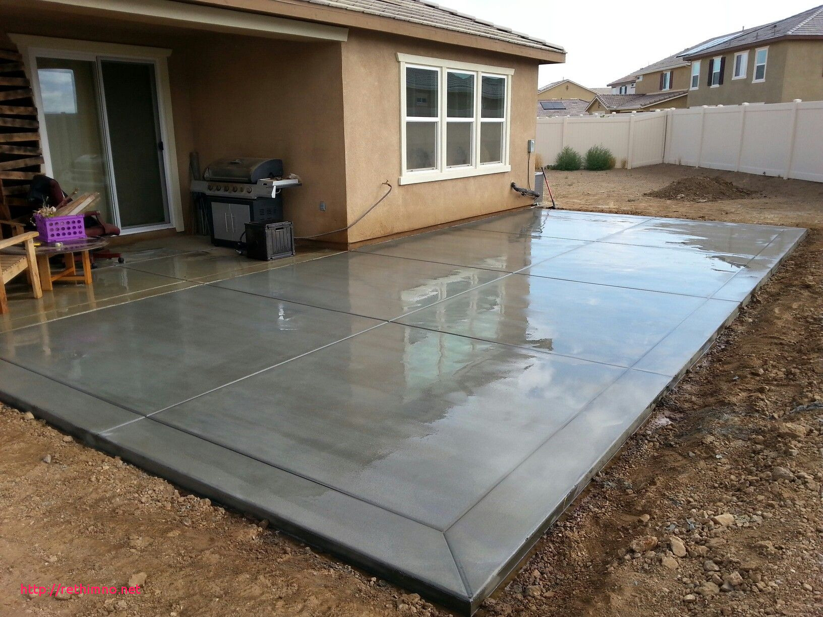 Beautiful Concrete Slab Backyard Ideas Rethimno regarding Backyard Concrete Slab Ideas