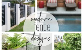 Beautiful Modern Fence Design Ideas throughout 16 Smart Ways How to Build Backyard Fence Design