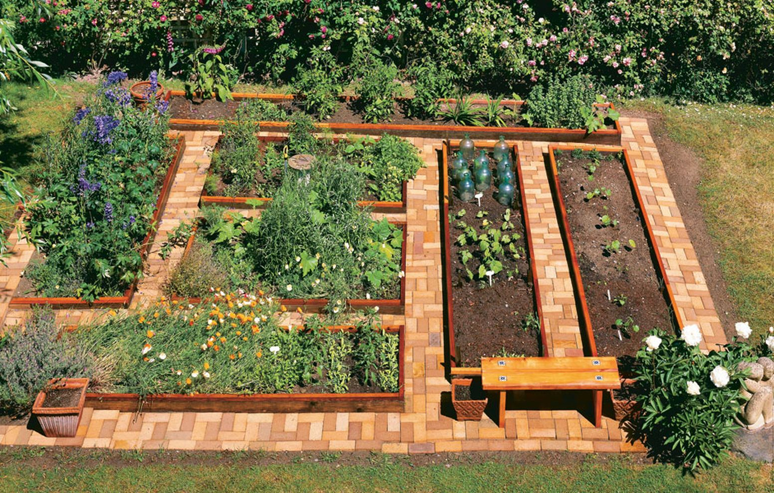Best Backyard Vegetable Garden Designs Colors For Your in Vegetable Garden Design Ideas Backyard
