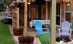 Cheap And Easy Diy Home Decor Projects Get Outside within 13 Some of the Coolest Tricks of How to Makeover Easy Diy Backyard Ideas