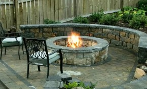Cheap Diy Fire Pit Ideas 2018 How To Build Survival Stone Backyard Grill Patio Homr Depot with regard to Backyard Stone Ideas
