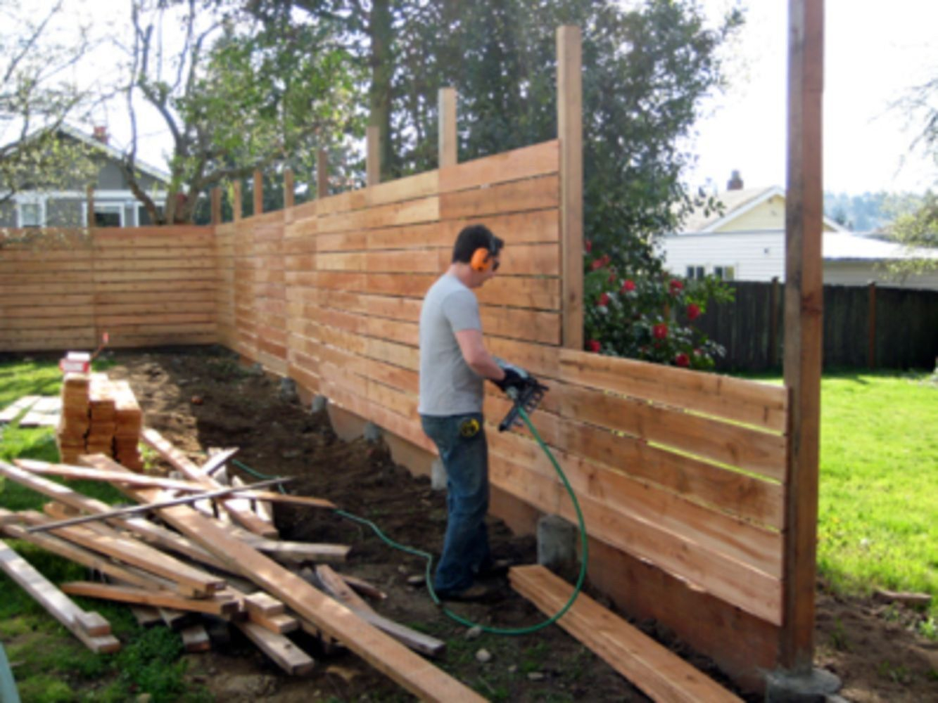 Cheap Diy Privacy Fence Ideas 53 Outside Diy Privacy intended for Backyard Wood Fence Ideas