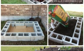 Diy Cinder Block Raised Garden Bed 20 Diy Raised Garden Bed Ideas in 12 Awesome Tricks of How to Craft Backyard Garden Bed Ideas