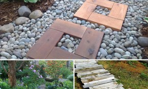 Diy Garden Paths And Backyard Walkway Ideas The Garden Glove intended for 15 Awesome Ideas How to Make Backyard Walkway Ideas