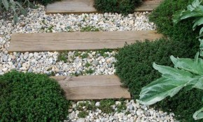 Diy Garden Paths And Backyard Walkway Ideas The Garden Glove within 15 Awesome Ideas How to Make Backyard Walkway Ideas