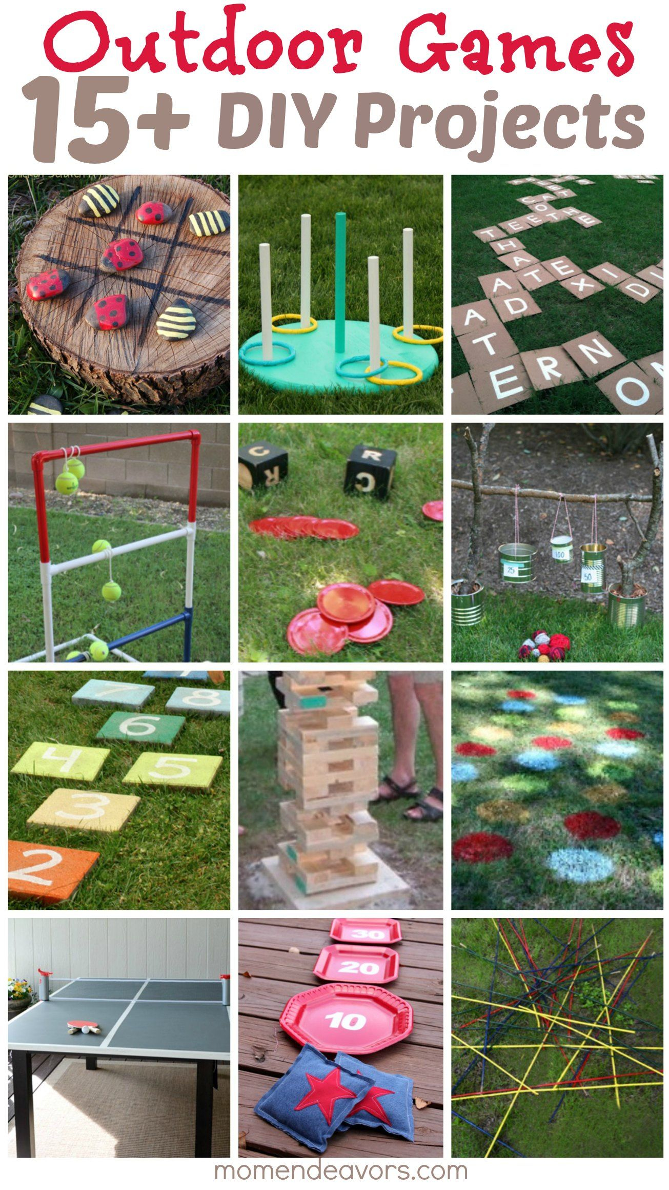 Diy Outdoor Games 15 Awesome Project Ideas For Backyard with 12 Some of the Coolest Initiatives of How to Upgrade Backyard Kid Ideas