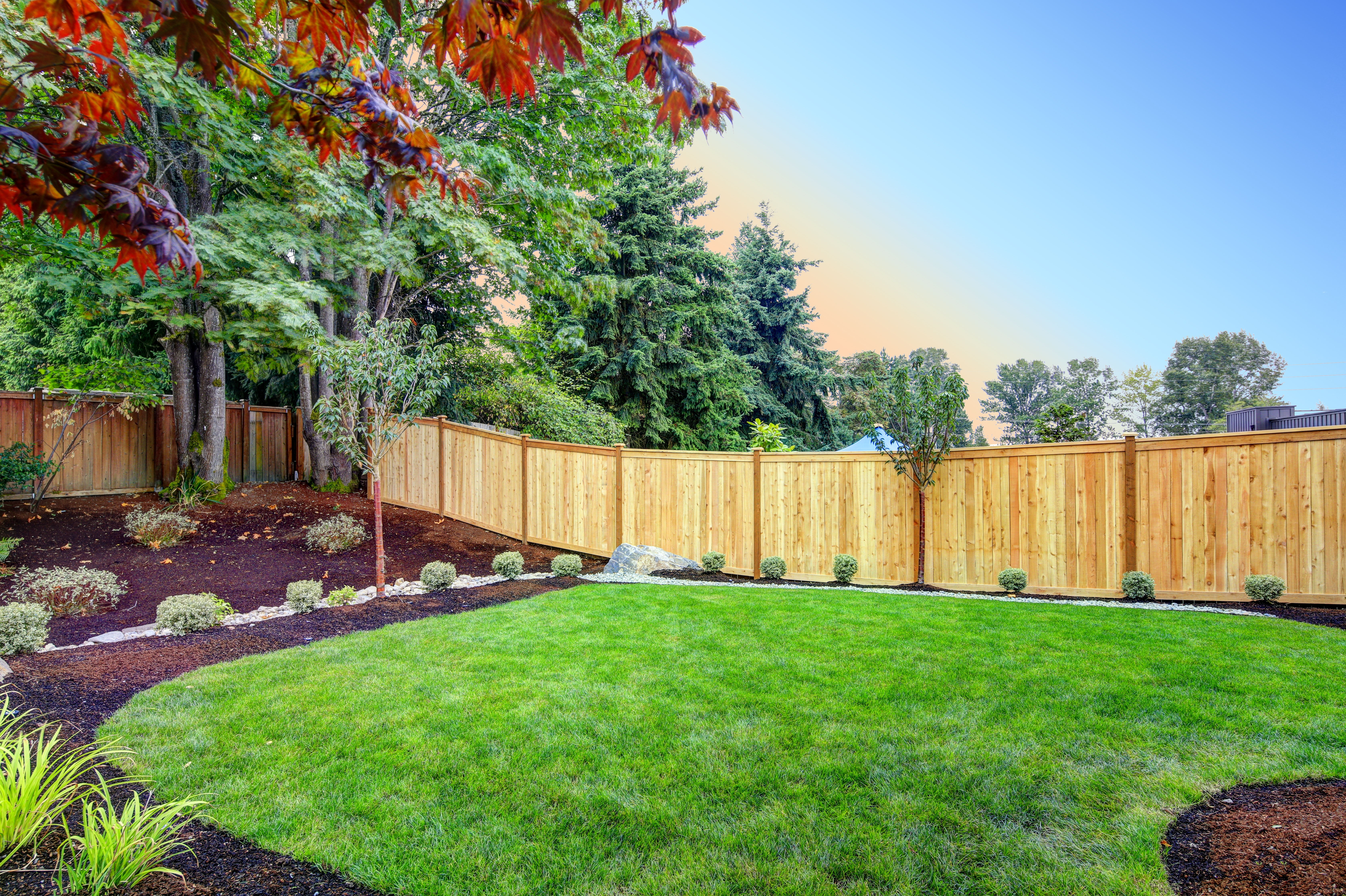 Does A Fence Increase Home Value Heres What The Pros Say in 11 Awesome Concepts of How to Build Backyard Fences Pictures