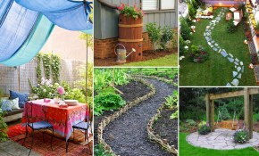 Easy And Creative Diy For Backyard Ideas On A Budget Garden Ideas in 11 Awesome Tricks of How to Improve Creative Backyard Ideas On A Budget