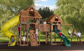 Exterior Appealing Backyard Playsets For Inspiring Outdoor pertaining to 12 Genius Ways How to Makeover Playground Ideas For Backyard