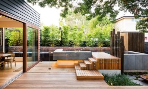 Family Fun Modern Backyard Design For Outdoor Experiences To Come throughout 15 Awesome Concepts of How to Make Modern Backyard Design Ideas