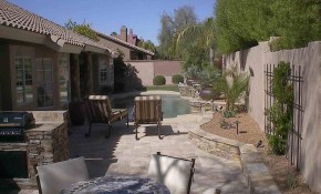 Hardscaping Ideas For Backyards Front Yard Landscape Fence intended for Backyard Hardscape Design Ideas