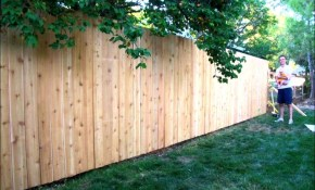 How Much Cost Fence Backyard 28 Images Wood Fence Cost regarding 11 Genius Designs of How to Makeover How Much Does A Backyard Fence Cost
