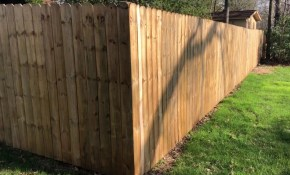 How Much Does A 6 Fence Cost To Install The Price Of My 180 Feet Of Wood Fencing intended for How Much Does A Backyard Fence Cost