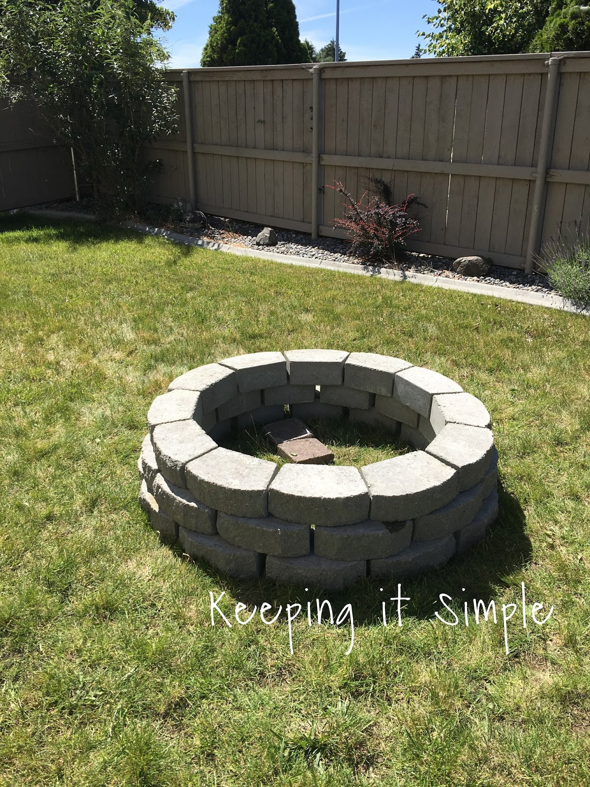 How To Build A Diy Fire Pit For Only 60 Keeping It Simple in 10 Awesome Tricks of How to Build Easy Backyard Fire Pit Ideas