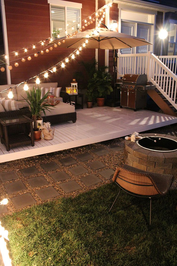 How To Build A Simple Diy Deck On A Budget Patio Style Challenge inside Inexpensive Backyard Patio Ideas