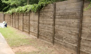 How To Build A Wood Fence On A Chainlink Fence Bower Power inside How Much To Put Up A Fence In Backyard