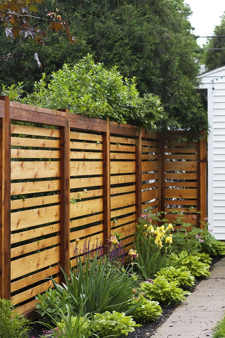 If We Ever Have To Re Build Our Fence This Style Is Awesome in Fencing Backyard