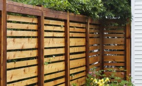 If We Ever Have To Re Build Our Fence This Style Is Awesome throughout Backyard Fences Pictures