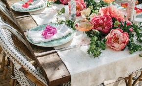 Its A Garden Party Boho Bridal Shower Inspiration Beacon Lane for 14 Some of the Coolest Designs of How to Improve Backyard Bridal Shower Ideas