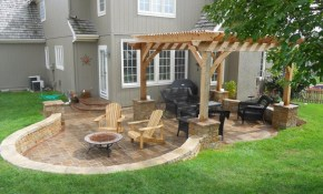 Kitchen Backyard Patio Design Ideas Design Idea And Decor within 13 Awesome Designs of How to Improve Small Backyard Patio Ideas