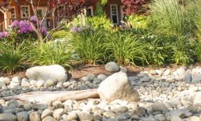 Landscaping With River Rock Dry River Rock Garden Ideas The regarding 11 Genius Initiatives of How to Build Backyard Stream Ideas