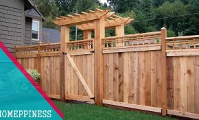 Latest Design 50 Wood Fence Ideas 2017 for Backyard Fencing Ideas