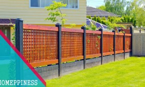 New Design 2017 25 Modern Front Yard Fence Ideas for Fencing For Backyard