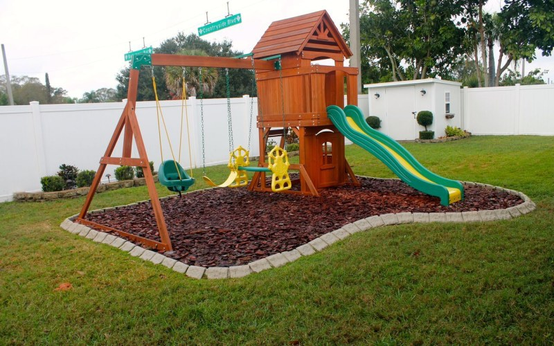 Playground Edging Backyard Ideas In 2019 Backyard for 12 Genius Ways How to Makeover Playground Ideas For Backyard