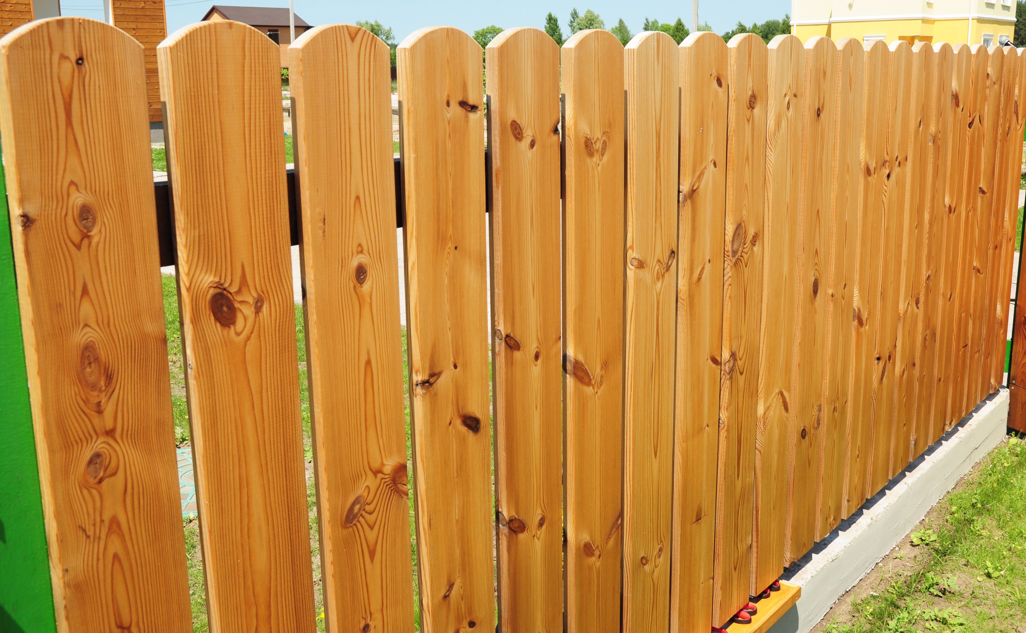 Recommended Wood For Fences Home Guides Sf Gate pertaining to Cost Of Backyard Fence