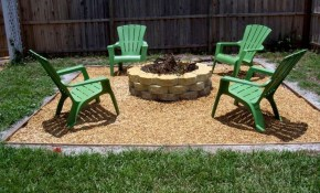 Simple Backyard Ideas Outdoor Outdoor Green Chairs For regarding 13 Genius Ways How to Make Simple Backyard Ideas On A Budget