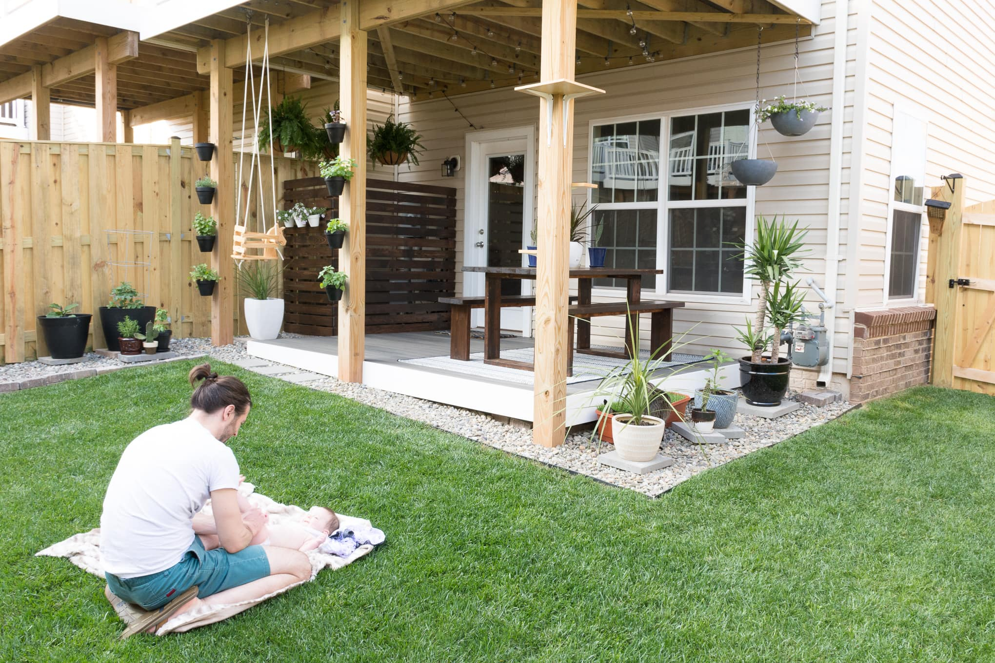 Small Backyard Design Ideas In My Tiny Backyard And Garden pertaining to 15 Awesome Concepts of How to Make Modern Backyard Design Ideas