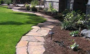 Stunning Front Yard Path Walkway Ideas 48 For The Home with regard to Backyard Walkway Ideas