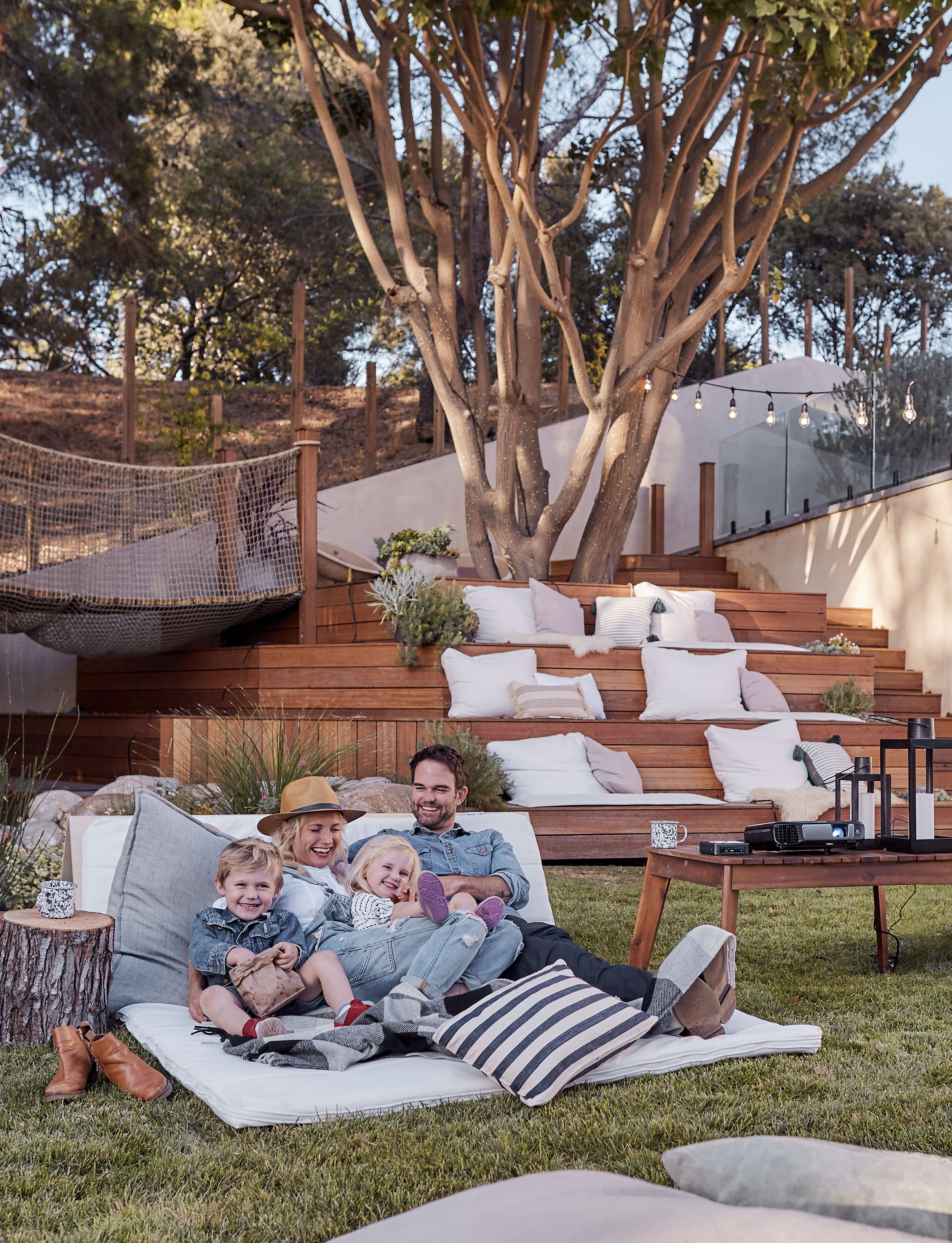 The Ultimate Outdoor Movie Night And Campout With Intel with regard to 12 Genius Concepts of How to Craft Backyard Movie Night Ideas